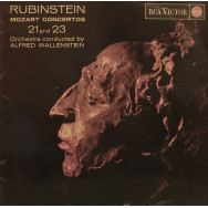 Artur Rubinstein, Alfred Wallensstein - Mozart Concertos Nos. 21 and 23